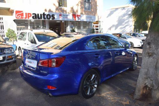 Lexus IS 250. Vehículo de ocasión.