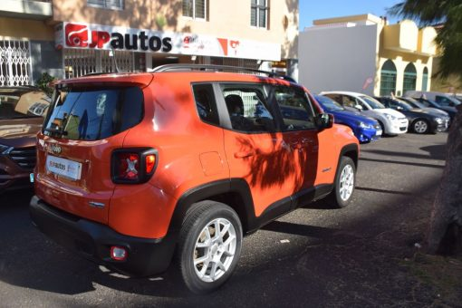 Jeep Renegade. Vehículo de ocasión.